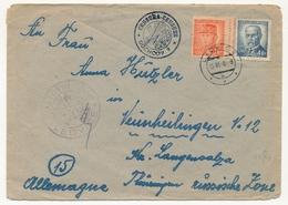 TCHECOSLOVAQUIE - Enveloppe Depuis LEDVICE 5/3/1948 Censure (censura) DUCHCOV 9 - Czechoslovakia