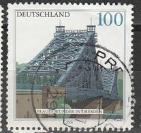 "PIA - GERMANIA - 2000 : Ponte ""Miracolo Bleu"" A Dresda - (Yv 1942) - Usati"