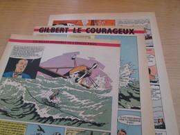 SPI2020 3 Feuilles 4 Ou 5 Pages / Les Plus Belles Histoires De L'Oncle Paul : GILBERT LE COURAGEUX - Otros Objetos De Cómics