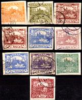 Cecoslovacchia-B-0010 - Emissione 1918-20 - Varie Tonalità Di Colore (o) Used - Senza Difetti Occulti. - Non Classificati