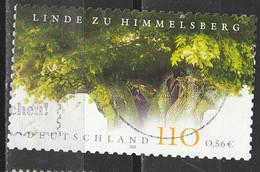 PIA - GERMANIA - 2001 : Immagini Della Germania - Fogliame Di Tiglio - (Yv 2040) - Usati