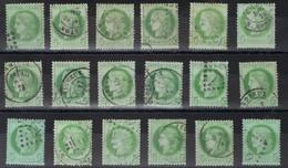 Lot De N°53 En Bon état Et Même Très Bon état Pour La Plupart Côte 180€ - 1871-1875 Cérès