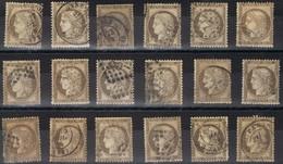 Lot De N°56 En Bon état Et Même Très Bon état Pour La Plupart Côte 108€ - 1871-1875 Cérès