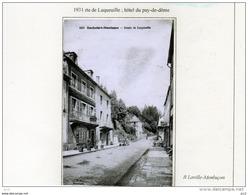 63 - ROCHEFORT- MONTAGNE -  Route De Laqueuille - Autres Communes