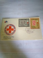 Costa Rica Red Cross Fdc 1985  Yv 407/8 - Costa Rica