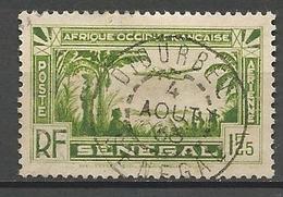 SENENEGAL PA N° 4 CACHET DJOURBEL - Aéreo