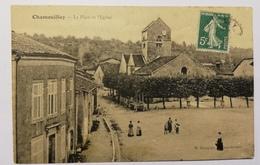 Chamouilley. La Place Et L'eglise. E13 - Altri Comuni