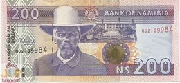 NAMIBIA 200 DOLLARS 1996/2003 PICK 10b UNC - Namibia
