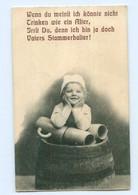 Y8719/  Bier Kleines Mädchen, Bierkrug AK 1912 - Cartoline