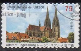 ALLEMAGNE FEDERALE N° 2671 O Y&T 2011 Cathédrale De Ratisbonne - Usati