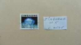 Afrique > Zimbabwe  : Timbre N° 5 Oblitéré - Zimbabwe (1980-...)
