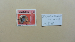 Afrique > Zimbabwe  : Timbre N° 102  Oblitéré - Zimbabwe (1980-...)