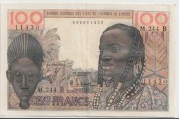 WEST AFRICAN STATES - Benin P. 201Bf 100 F 1965 VF - Bénin