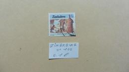 Afrique > Zimbabwe  : Timbre N° 100  Oblitéré - Zimbabwe (1980-...)