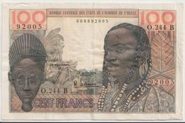 WEST AFRICAN STATES - Benin P. 201Bf 100 F 1965 VF - Benin