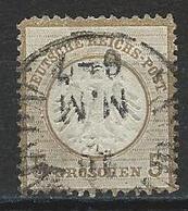 Deutsches Reich Mi 6 O - Oblitérés