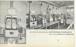 BELGIQUE BRUXELLES  Oeuvre Maternelle Des Couveuses D'enfants  13, Rue De La Madeleine  CPA D'avant 1903 Non écrite - Gesundheit, Krankenhäuser