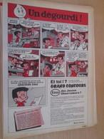 SPI2020 Issu De Spirou  PAGE DE PUBLICITE ANNEES 50/60 GRAND CONCOURS ESSO DES JEUNES OBSERVATEURS - Publicités