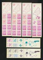 Belgique  Lot De 12 Carnets - Carnets 1953-....