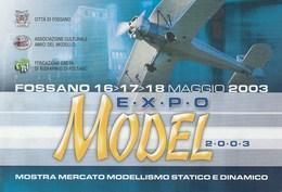 Eventi - Fossano (CN) 2003 Mostra Mercato Modellismo Statico E Dinamico - - Manifestazioni