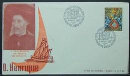 Portugal - FDC 1960 Discoveries Infante Dom Henrique - 1910-... Republic