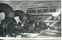 N°3289 T -cpa Usine électrique De La Roche Qui-Boit -salle Des Machines- - Industrie