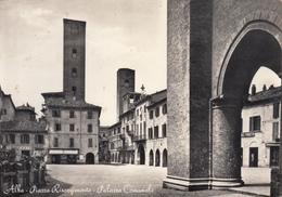 Alba - Piazza Risorgimento E Palazzo Comunale - Cuneo