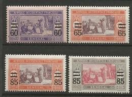 SENENEGAL N° 87 à 90 NEUF*   CHARNIERE / MH - Sénégal (1887-1944)