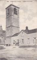Landes - Lencouacq - L'Eglise Et La Poste - Other Municipalities