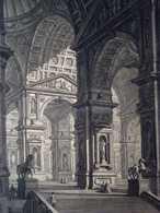 Piranese - Galleria Grande Di Statue - Estampes & Gravures