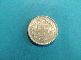 SVIZZERA 5 FRANCS 1969 - Suiza