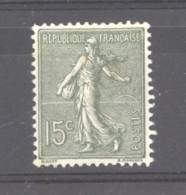 0ob  501  -  France  :  Yv  130c  *    Type I V - 1903-60 Semeuse A Righe