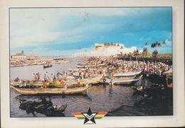 Ghana - Elmina Castle - Fishing Village - Nice Stamp - Ghana - Gold Coast