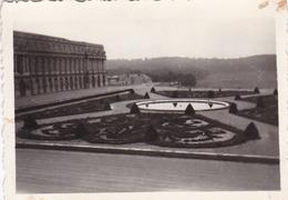 PHOTO ORIGINALE 39 / 45 WW2 WEHRMACHT FRANCE VERSAILLES JUIN 1940 VUE SUR LES JARDINS - Guerre, Militaire