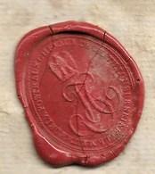 Chatillon Sur Seine Période Napoléon III, Cachet Maitre De La Poste Aux Chevaux De Chatillon Sur Seine  Port France 2€ - Documents Historiques