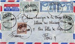 MALAISIE PENANG : PA . POUR LA FRANCE . 1958 . - Penang