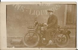 Carte Photo - Thème Transport Moto - Marque Dresch - Gros Plan - Moto