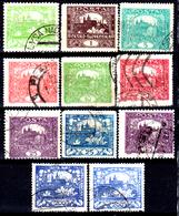 Cecoslovacchia-B-0013 - Emissione 1918-20 - Varie Tonalità Di Colore (o) Used - Senza Difetti Occulti. - Non Classificati