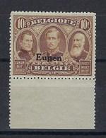 OC100a** : 10f Nuance Brun-sépia Et Bord De Feuille - [OC55/105] Eupen/Malmedy