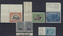 OC84/99** : 6 Valeurs De La Série Avec Bord Ou Coin De Feuille Marqué Dépot 1920 Ou 1921 - Guerre 14-18