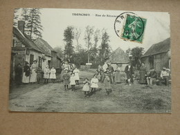 Lot 3 Cartes Postales Anciennes 80 Somme Tronchoy - Other Municipalities