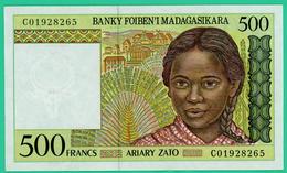 500 Francs - Madagascar - C01928265 - TTB - - Madagascar