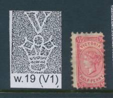 VICTORIA, 1873 ½d P12 Wmk V1 Rosine Very Fine, SG181b, Cat £7 - 1850-1912 Victoria