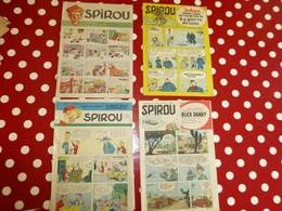 Lot De 3 SPIROU 1948, 1954, 1955  ; L06 - Spirou Magazine