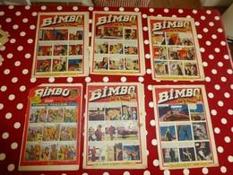 BIMBO, Vers 1950, Lot De 4 Numéros ; L06 - Andere Magazine