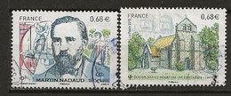FRANCE:, Obl., N° YT 4968 Et 4969, TB - Oblitérés