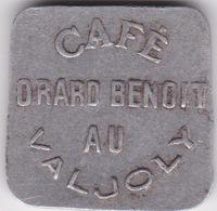 Jeton - Token  Café DRARD BENOIT - VALJOLY - FRANCE - Notgeld