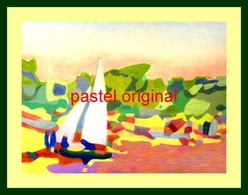 Antibes - Pastels