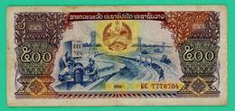 500 Kip - Laos - N° KC7776704 - 1988 - TB + - - Laos