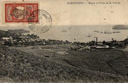 Cpa Martinique Bourg Et Usine De La Trinité - La Trinite